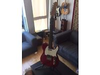 Stagg Electric Guitar (Telecaster Style) Maroon