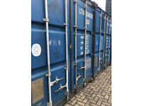 20ft Storage Containers For Rent - Secure Location - Glasgow - 5 Mins From M74 - Shipping Container