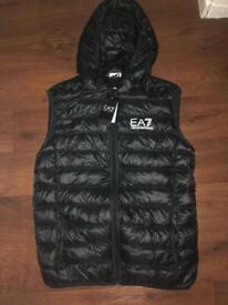 Emporio Armani EA7 core hooded padded gilet