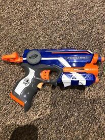 Nerf fire strike laser pointer