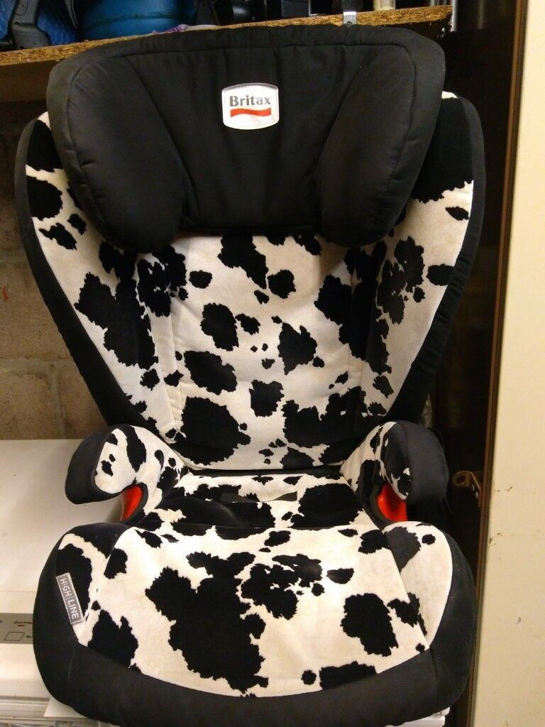 Britax Group 3 Car Seat Isofix Cowmooflage