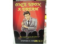 Once upon a Dream by Stephen H.Childs an adult fictional novel by local Chadderton author.