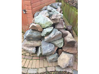 Granite Rockery Stones For Sale All Clean Multiple Sizes