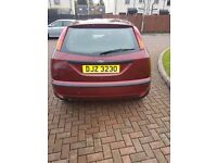FORD FOCUS 2002 99,000 miles Petrol Red