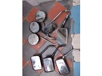 MOTORCYCLE MIRRORS (ASSORTED)