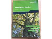 Edexcel AS Religious Studies student book