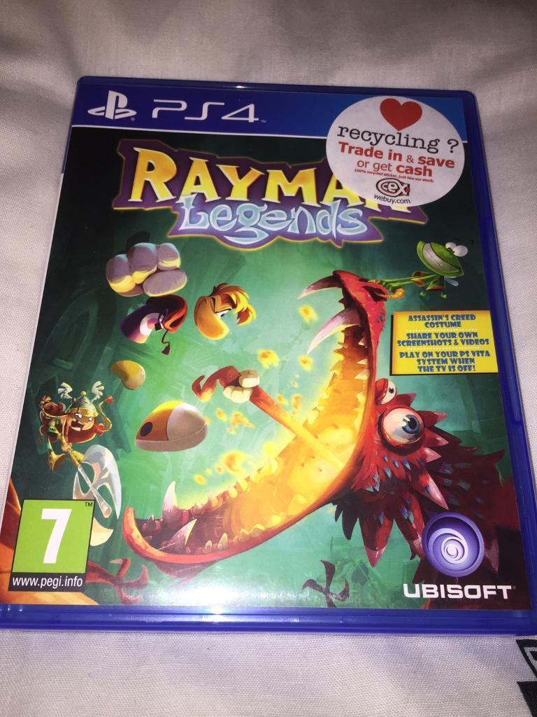 PS4 Games bundle  Assassins Creed - Unity, Destiny 2 and Rayman Legends |  in Tollcross, Edinburgh | Gumtree