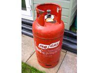 1kg+ FLO GAS EXCHANGE ORANGE PROPANE BOTTLE 19KG COLLECTION PINXTON NG16 6HA