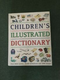 Large Children's illustrated Dictionary