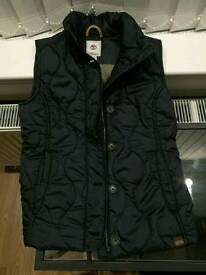 Timberland women body warmer perfect condition size xs