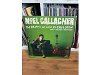 Noel Gallagher live lps records albums vinyl