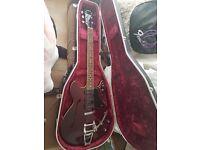 Yamaha SA503-TVL Troy Van Leeuwen Signature Semi Acoustic Guitar W/ Custom Hiscox Hard Case