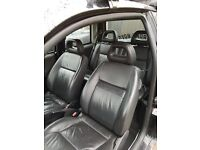 Leather lupo seats including rears (rare)