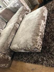 Sofa 3seater with footstool