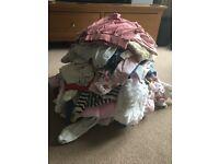 Bundle newborn girls clothes 0-3 months