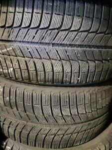 2 winter tires Michelin x ice 245/40r19