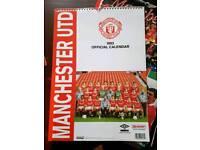 Manchester United calendars 1991-1996