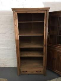** MEXICAN PINE BOOKCASE **