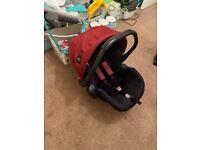 Hauck Icoo Acrobat XL Plus Trio Set Travel System Pushchair Car Seat Carry Cot Not joie toys