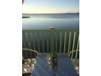 Holiday Cottage - Isle of Islay, Bowmore, Luxurious 3 Bedroom House with Balcony overlooking Harbour