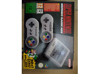Nintendo Classic Mini: Super Nintendo Entertainment System New