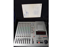 YAMAHA MD-8 8-TRACK RECORDER PLUS, GATOR CASE AND DATA DISCS