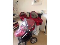 Musty buggy pram maxicosi cot - all in good condition with all accesories