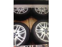 Alloy wheels Ford Focus