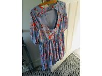 ASOS Premium embroidered maternity dress, Size 14. Worn once. Very pretty.