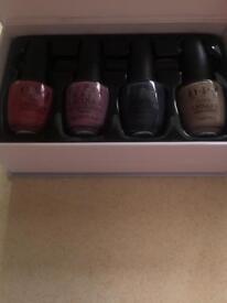 O.P.I nail polish set