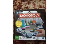 Monopoly U Build Board Game Hasbro Gift Box,Property Trading Family All Ages