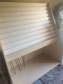 CARD RACK AND GIFT WRAP HOLDER