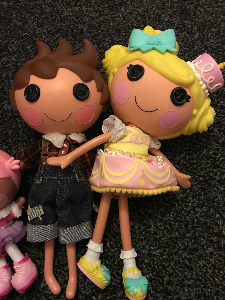 Lalaloopsy Littles Doll Bundle Fashion, Character, Play Dolls Used
