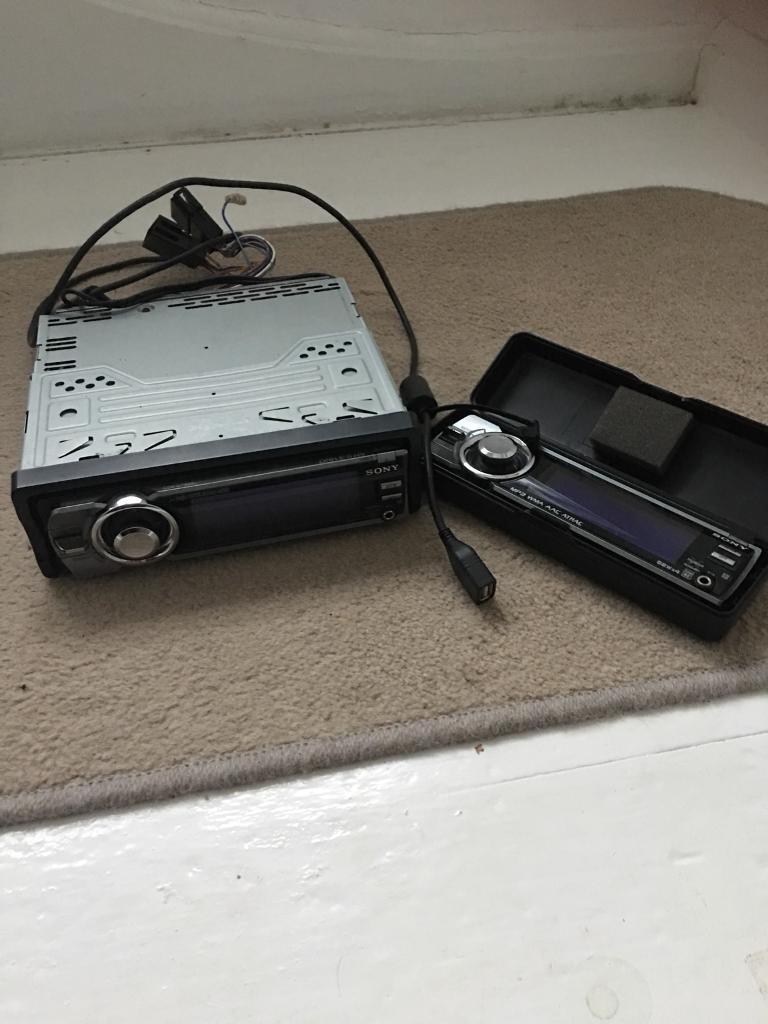 Sony CDX-GT929U stereo