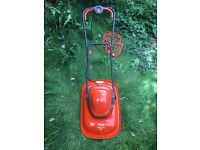FLYMO LAWNMOVER - FTL330 - TURBO LITE ELECTRIC HOVER - LIKE NEW