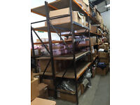 Long Span Complete Heavy Duty Racking System Warehouse Industrial Shelving