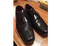 Samuel Windsor leather brogue shoes size 10