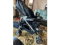 Mamas & Papas p3 pramette and car seat