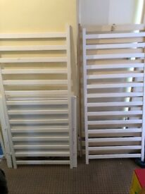 Wooden baby cot good condition