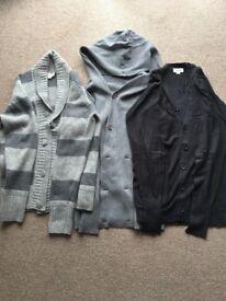 Men's Diesel cardigans and jacket size Medium