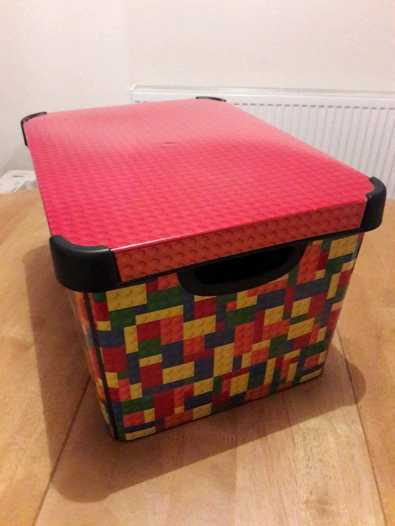 FREE Curver Bright Blocks Storage Box