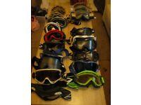 Moto cross goggles