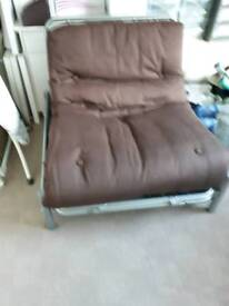Metal action bed