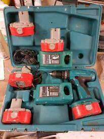 Makita combi drill set