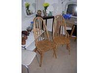 Ercol chairs, Gplan tables, Anglepoise lamp plus loads of Retro Vintage items