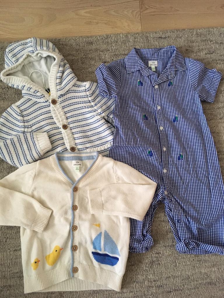 John Lewis Baby Boy Bundle (9-12mths)