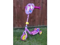 Peppy Pig Tri Scooter