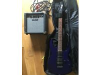 Ibanez GIO Electric Guitar with amp