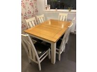 Dining Table , chairs and sideboard