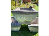 Stone type planters